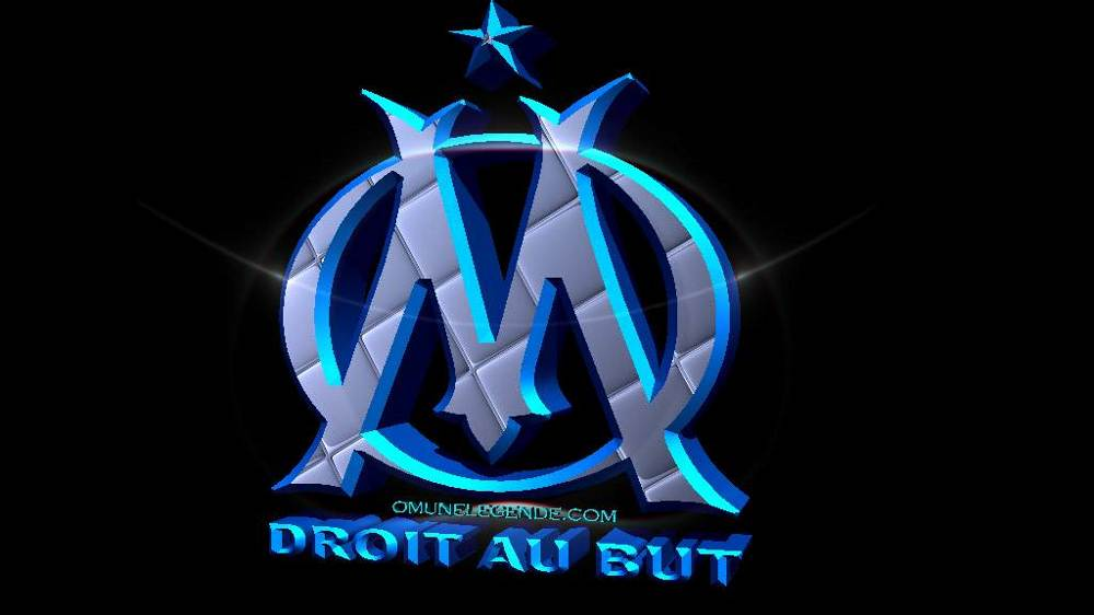Fonds d 39 cran om - Marseille logo foot ...